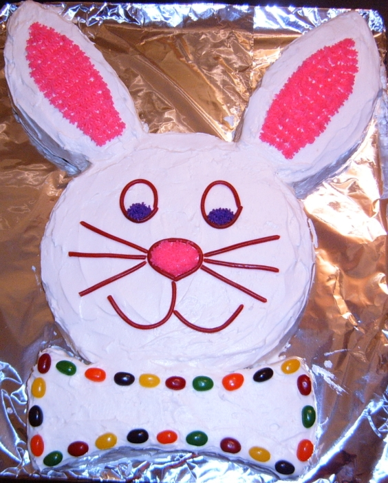 quentin sacco: Easter Bunny Cake