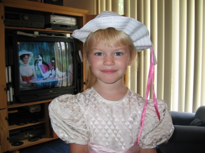 Sarah as Mary Poppins1