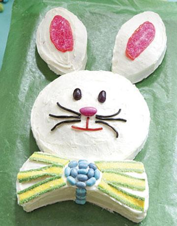 easy easter bunny cake pragmatic compendium. Black Bedroom Furniture Sets. Home Design Ideas