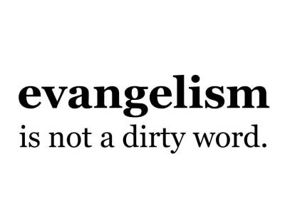 evangelism is not a dirty word square