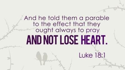Luke 18 1