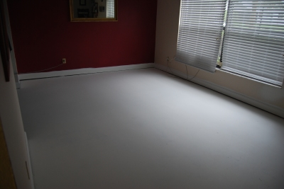 the living room makeover - floor sanded and sealed