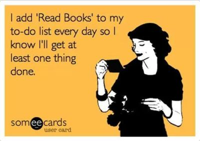 Add read book to my to do list