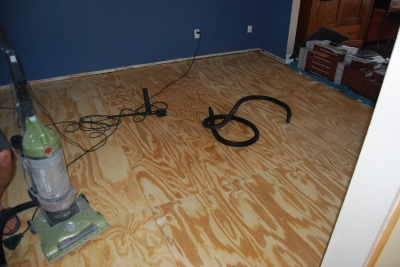 game room subfloor 2
