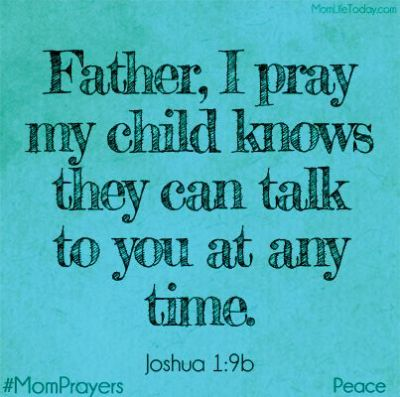 Joshua 1 9 prayer