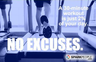 30 minute workout 2 percent of your day