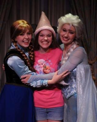 PinkGirl and Anna and Elsa May 30th
